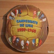 Álbum de fútbol completo: ALBUM FUTBOL LIGA 59/60 -COMPLETO. Lote 103628487