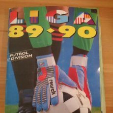 Álbum de fútbol completo: ALBUM ESTE 89-90 CON TODO LO EDITADO 442 CROMOS. Lote 103701659