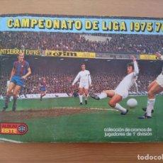Álbum de fútbol completo: ALBUM ESTE 75-76 384 CROMOS - CASI TODO LO EDITADO. Lote 103709883