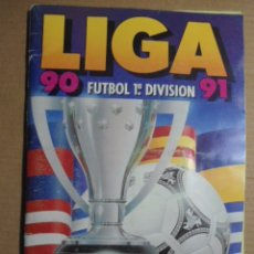 Álbum de fútbol completo: ALBUM ESTE 90/91 COMPLETO;FICHAJES,50 DOBLES+SIRAKOV COLOCA SIN PEGAR,CROMOS EXCELENTE ESTADO. Lote 103713767