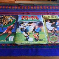 Álbum de fútbol completo: ESTE LIGA 1993 1994 93 94, 1996 1997 96 97 COMPLETO. REGALO 1995 1996 COMPLETO FALTAN 5 CROMOS. Lote 87494404