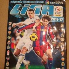 Álbum de fútbol completo: ALBUM ESTE TEMPORADA 11/12, COMPLETO, CON TODO LO EDITADO ( SALVO ERRORES).. Lote 103872847