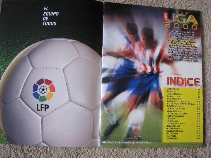 Álbum de fútbol completo: LIGA 1999/2000 LFP COLECCIONES ESTE - Foto 2 - 45343281