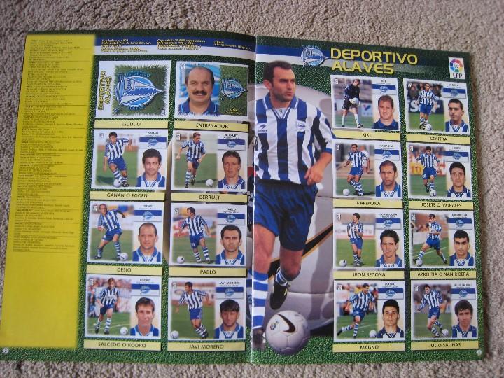 Álbum de fútbol completo: LIGA 1999/2000 LFP COLECCIONES ESTE - Foto 3 - 45343281