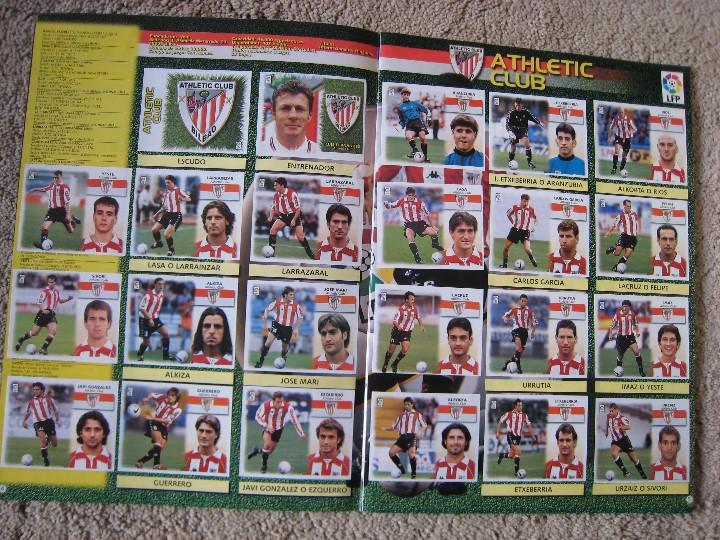 Álbum de fútbol completo: LIGA 1999/2000 LFP COLECCIONES ESTE - Foto 4 - 45343281
