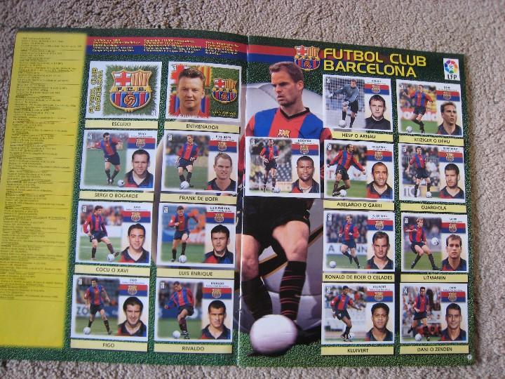 Álbum de fútbol completo: LIGA 1999/2000 LFP COLECCIONES ESTE - Foto 5 - 45343281
