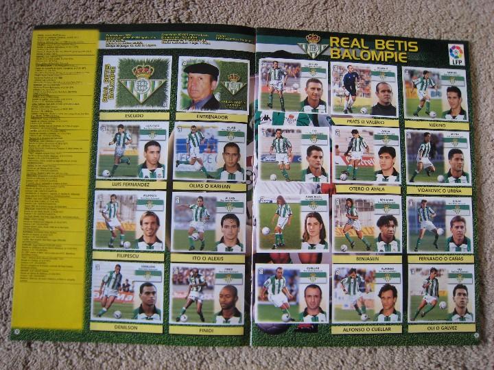 Álbum de fútbol completo: LIGA 1999/2000 LFP COLECCIONES ESTE - Foto 6 - 45343281