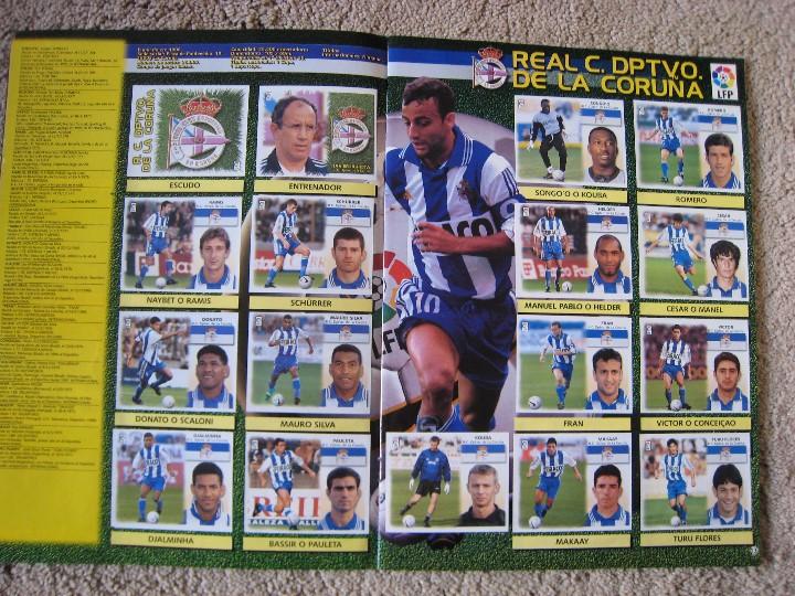 Álbum de fútbol completo: LIGA 1999/2000 LFP COLECCIONES ESTE - Foto 8 - 45343281