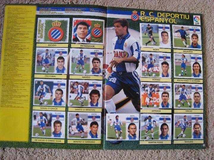 Álbum de fútbol completo: LIGA 1999/2000 LFP COLECCIONES ESTE - Foto 9 - 45343281
