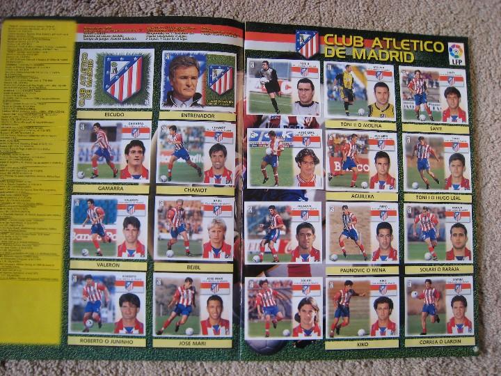 Álbum de fútbol completo: LIGA 1999/2000 LFP COLECCIONES ESTE - Foto 10 - 45343281