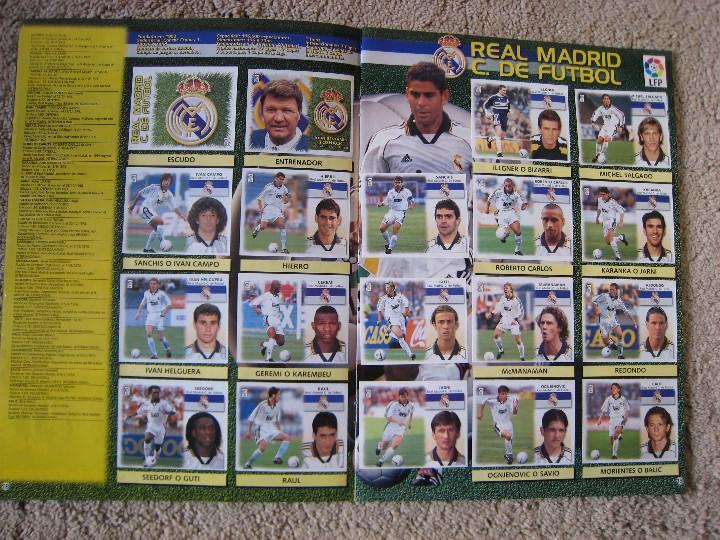 Álbum de fútbol completo: LIGA 1999/2000 LFP COLECCIONES ESTE - Foto 11 - 45343281