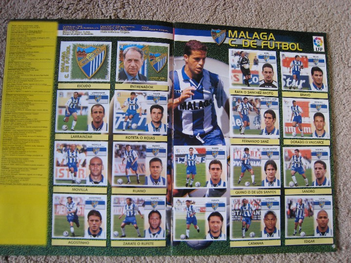 Álbum de fútbol completo: LIGA 1999/2000 LFP COLECCIONES ESTE - Foto 12 - 45343281