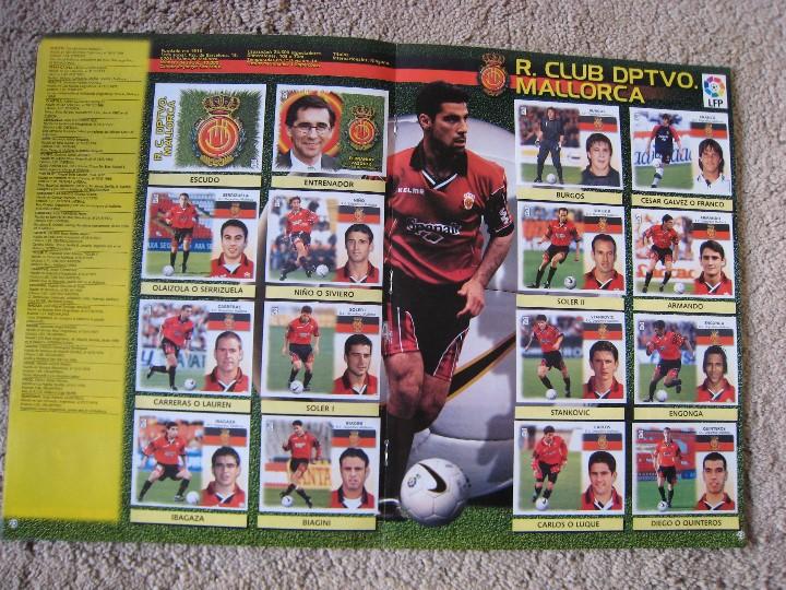 Álbum de fútbol completo: LIGA 1999/2000 LFP COLECCIONES ESTE - Foto 13 - 45343281