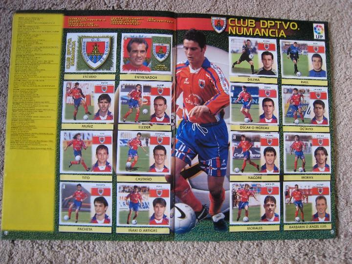 Álbum de fútbol completo: LIGA 1999/2000 LFP COLECCIONES ESTE - Foto 14 - 45343281