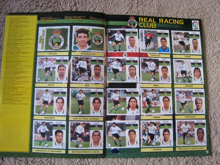 Álbum de fútbol completo: LIGA 1999/2000 LFP COLECCIONES ESTE - Foto 16 - 45343281