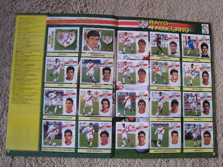 Álbum de fútbol completo: LIGA 1999/2000 LFP COLECCIONES ESTE - Foto 17 - 45343281