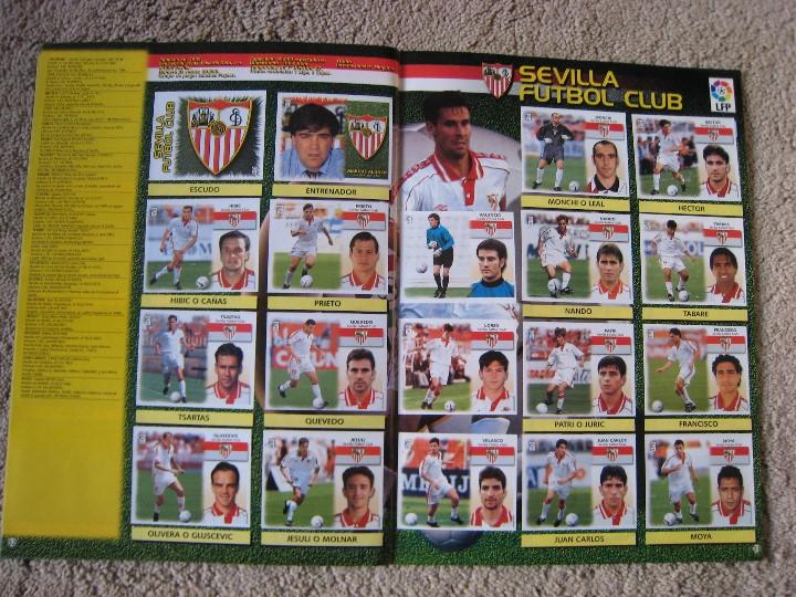 Álbum de fútbol completo: LIGA 1999/2000 LFP COLECCIONES ESTE - Foto 18 - 45343281