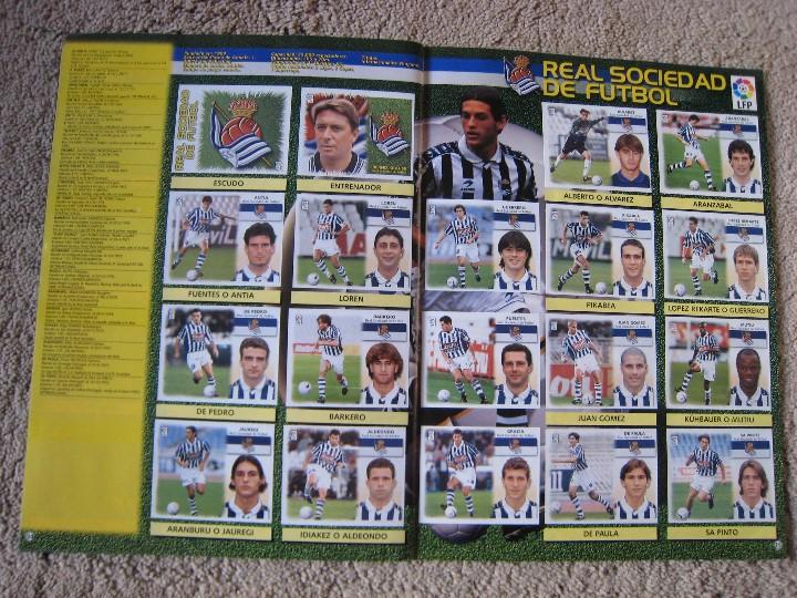 Álbum de fútbol completo: LIGA 1999/2000 LFP COLECCIONES ESTE - Foto 19 - 45343281