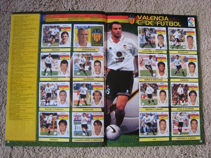 Álbum de fútbol completo: LIGA 1999/2000 LFP COLECCIONES ESTE - Foto 20 - 45343281