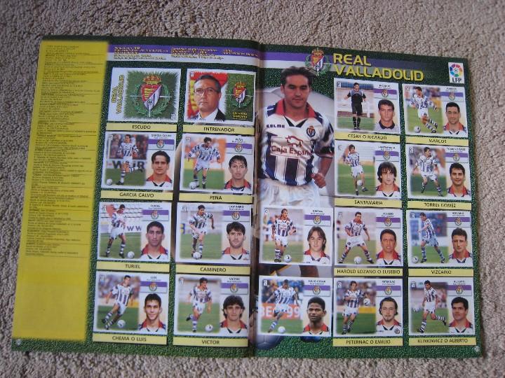 Álbum de fútbol completo: LIGA 1999/2000 LFP COLECCIONES ESTE - Foto 21 - 45343281