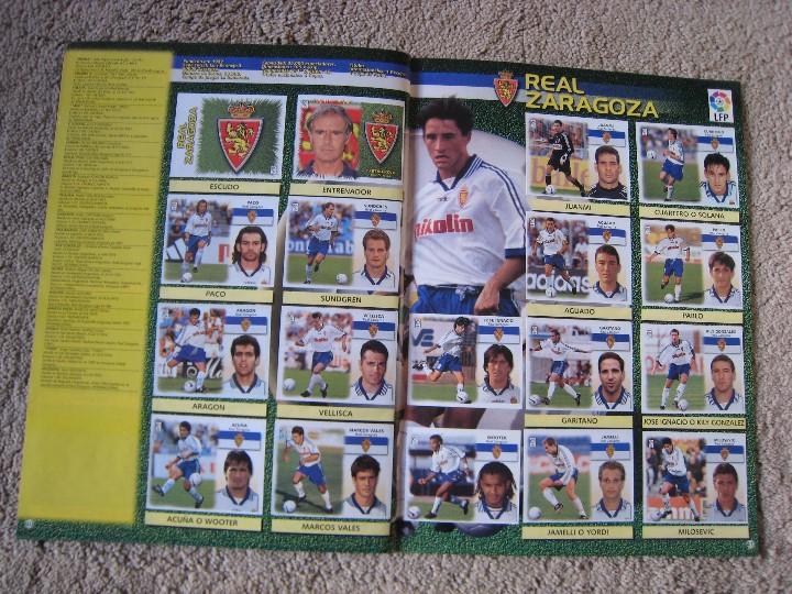 Álbum de fútbol completo: LIGA 1999/2000 LFP COLECCIONES ESTE - Foto 22 - 45343281