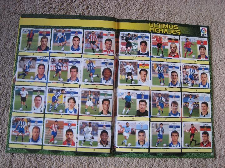 Álbum de fútbol completo: LIGA 1999/2000 LFP COLECCIONES ESTE - Foto 23 - 45343281