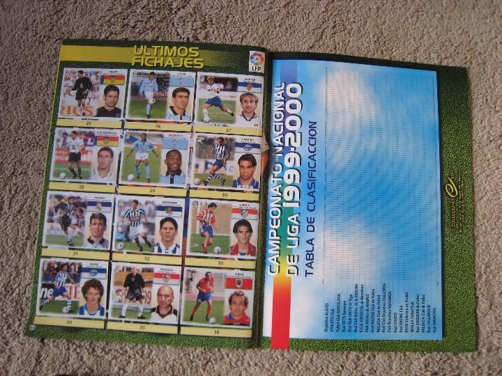 Álbum de fútbol completo: LIGA 1999/2000 LFP COLECCIONES ESTE - Foto 24 - 45343281