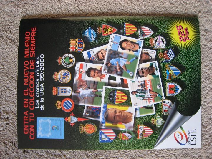 Álbum de fútbol completo: LIGA 1999/2000 LFP COLECCIONES ESTE - Foto 25 - 45343281