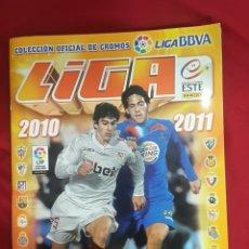 Álbum de fútbol completo: ÁLBUM CROMOS FÚTBOL LIGA 2010 2011 COMPLETO. Lote 104178042