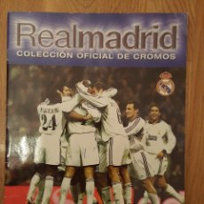 Álbum de fútbol completo: REAL MADRID 2000 2001 - PANINI ¡COMPLETO!. Lote 104265295