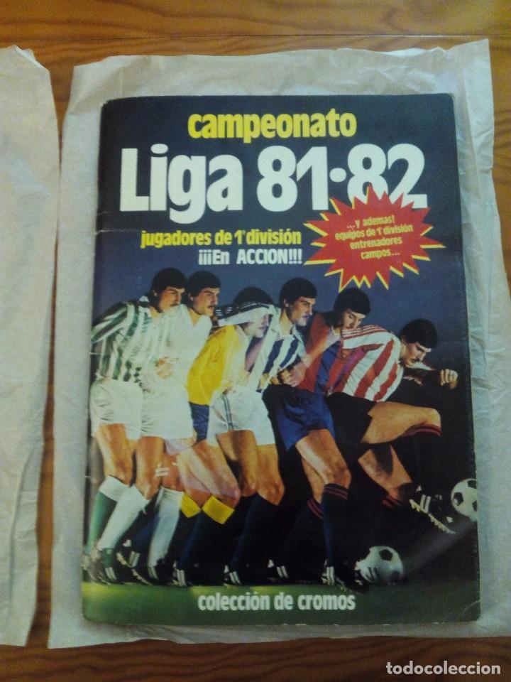ÁLBUM LIGA 81-82 ED. ESTE. COMPLETO (Coleccionismo Deportivo - Álbumes y Cromos de Deportes - Álbumes de Fútbol Completos)