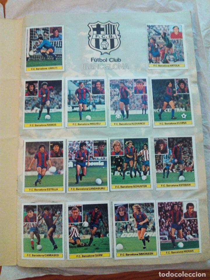 Álbum de fútbol completo: ÁLBUM LIGA 81-82 ED. ESTE. COMPLETO - Foto 2 - 104620099