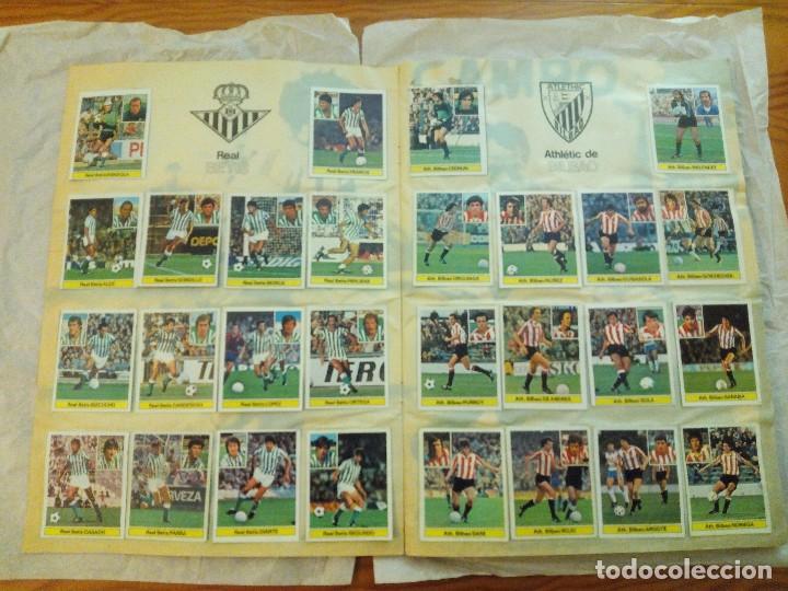 Álbum de fútbol completo: ÁLBUM LIGA 81-82 ED. ESTE. COMPLETO - Foto 3 - 104620099