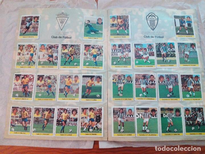 Álbum de fútbol completo: ÁLBUM LIGA 81-82 ED. ESTE. COMPLETO - Foto 4 - 104620099