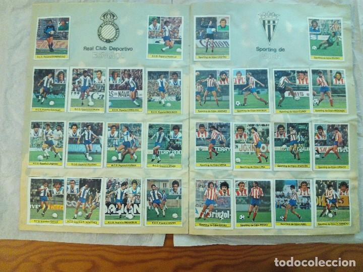 Álbum de fútbol completo: ÁLBUM LIGA 81-82 ED. ESTE. COMPLETO - Foto 5 - 104620099