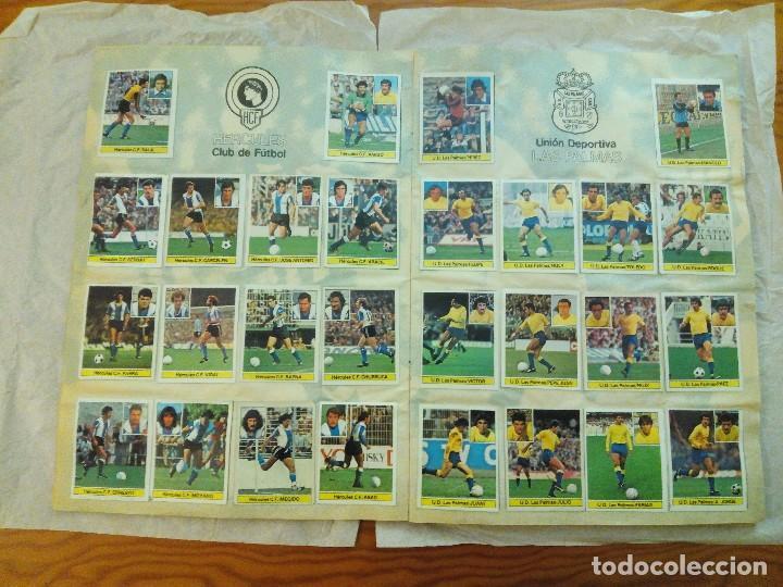 Álbum de fútbol completo: ÁLBUM LIGA 81-82 ED. ESTE. COMPLETO - Foto 6 - 104620099