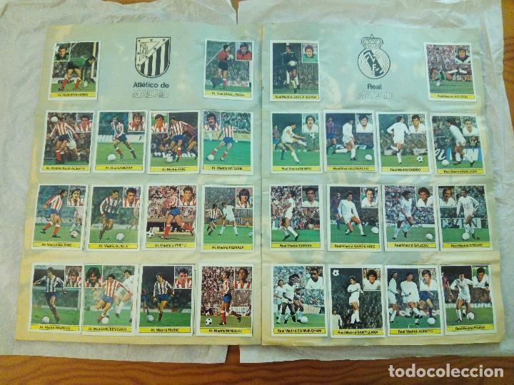 Álbum de fútbol completo: ÁLBUM LIGA 81-82 ED. ESTE. COMPLETO - Foto 7 - 104620099
