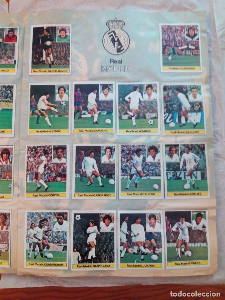 Álbum de fútbol completo: ÁLBUM LIGA 81-82 ED. ESTE. COMPLETO - Foto 8 - 104620099