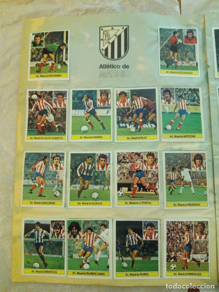 Álbum de fútbol completo: ÁLBUM LIGA 81-82 ED. ESTE. COMPLETO - Foto 9 - 104620099