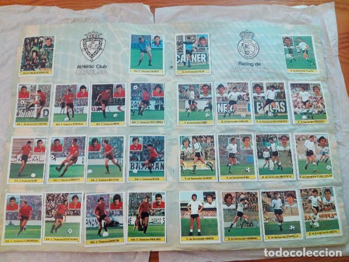 Álbum de fútbol completo: ÁLBUM LIGA 81-82 ED. ESTE. COMPLETO - Foto 10 - 104620099