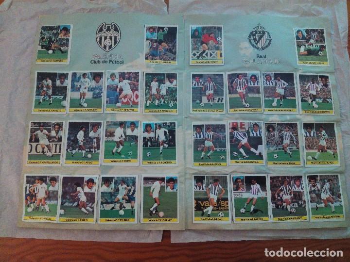 Álbum de fútbol completo: ÁLBUM LIGA 81-82 ED. ESTE. COMPLETO - Foto 12 - 104620099