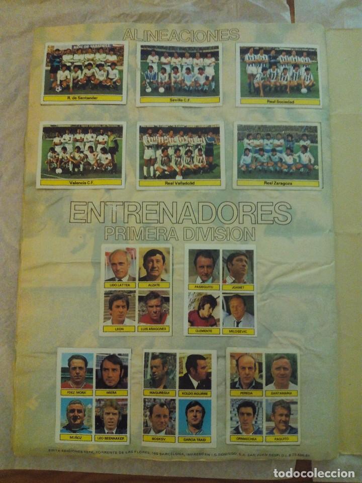 Álbum de fútbol completo: ÁLBUM LIGA 81-82 ED. ESTE. COMPLETO - Foto 16 - 104620099