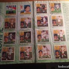 Álbum de fútbol completo: ALBUM EDICIONES ESTE TEMPORADA LIGA 1992 1993 92 93 CROMOS ADICIONALES COMPLETO. Lote 105164347