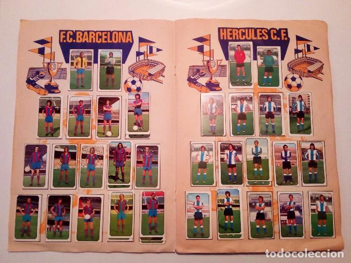 Álbum de fútbol completo: ALBUM FUTBOL LIGA EDICIONES ESTE 1977-1978 / 77-78. COMPLETO 378 CROMOS - Foto 5 - 105164599