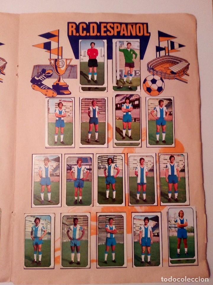 Álbum de fútbol completo: ALBUM FUTBOL LIGA EDICIONES ESTE 1977-1978 / 77-78. COMPLETO 378 CROMOS - Foto 21 - 105164599