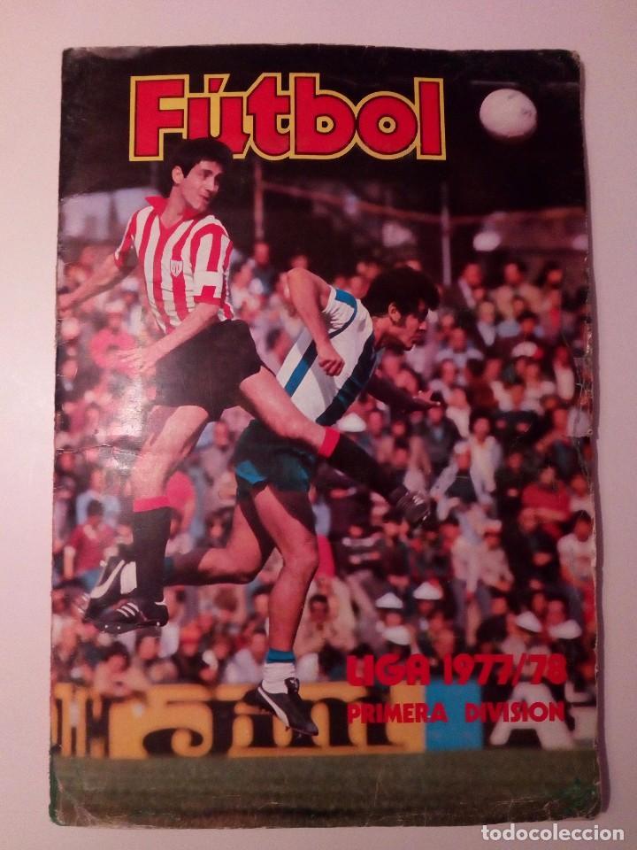 Álbum de fútbol completo: ALBUM FUTBOL LIGA EDICIONES ESTE 1977-1978 / 77-78. COMPLETO 378 CROMOS - Foto 35 - 105164599