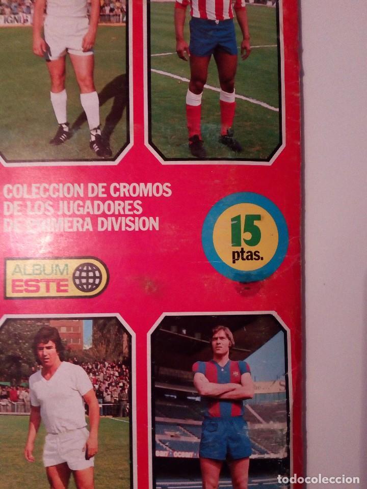 Álbum de fútbol completo: ALBUM FUTBOL LIGA EDICIONES ESTE 1977-1978 / 77-78. COMPLETO 378 CROMOS - Foto 41 - 105164599