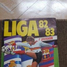 Álbum de fútbol completo: ALBUM COMPLETO LIGA ESTE 82 83 1982 1983 CON CLOS, MARADONA E ISIDRO CON PUBLICIDAD. Lote 99806207