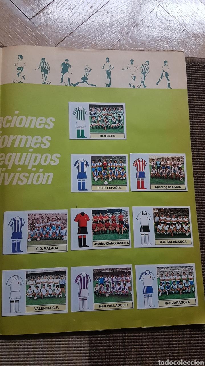 Álbum de fútbol completo: Album completo liga este 82 83 1982 1983 con Clos, Maradona e Isidro con publicidad - Foto 15 - 99806207