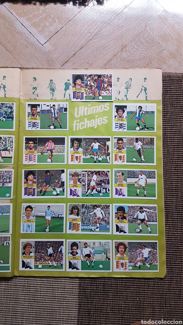 Álbum de fútbol completo: Album completo liga este 82 83 1982 1983 con Clos, Maradona e Isidro con publicidad - Foto 27 - 99806207